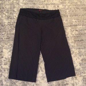 Torrid Pinstripe Wide Leg Pants